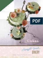 Cakes Brochure