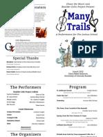 many trails program 2 1 1