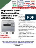Tecnologia Caqueta Impresoras Info@Tecnologiacaqueta.com