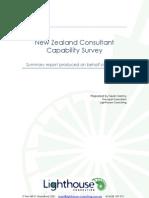Consultant Survey Report