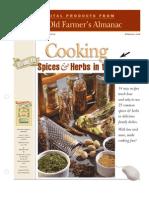 Almanac Spices Herbs Book