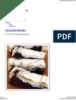 Brownie Power - Top 25 Best Brownie Recipes