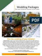 Wedding Packages at Kahanda Kanda 2013