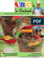 Mr Food ABC's of Back to School - Kid-friendly