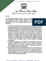 Declaration of Monsignor Francisco Ozoria Acosta