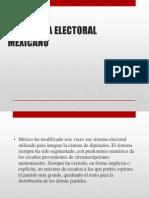 El Sistema Electoral Mexicano