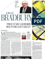 Paris Review Intervista Ray Bradbury - La Repubblica 03.06.2013