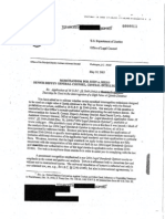 Office of Legal Counsel Memo to CIA, May 10, 2002