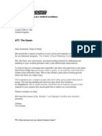 Chaser Letter
