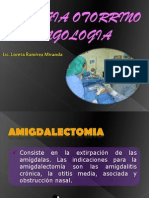 6. Cirugia Otorrino Laringologia- Amigdalectomia- Septoplastia- Reduccion
