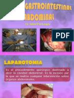 Cirugia Gastrointestinal y Abdominal