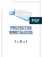 PROYECTOS BIMETÁLICOS