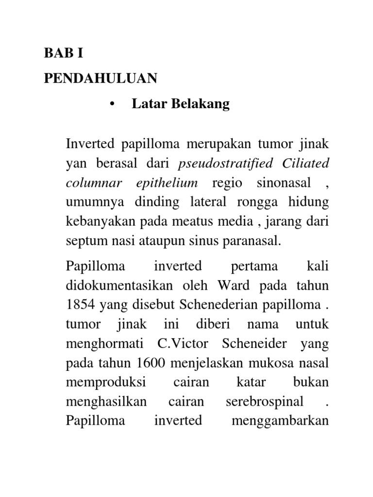 inverted uman papilloma adalah)