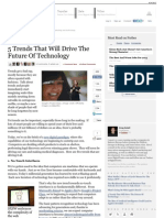 5 Trends That Will Drive the Future of Technology