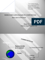 Modelo Educativo Por Competencias