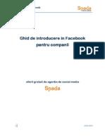 Introducere in Facebook Pentru Companii