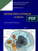 metodos de estudio de la célula