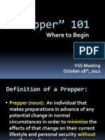 121426833 Prepper Presentation 101812