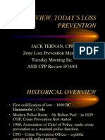Loss Prevention Cpp Study Group Presentation