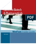 Careers in Biotech Pharma