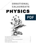 IB Physics Overview