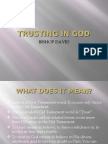 Part 5 - Trusting in God