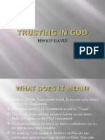 Part 5 - Trusting in God