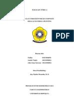 GLASS FIBER REINFORCED COMPOSITE  SEBAGAI MATERIAL SPLINTING