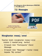 Moodle - Messages