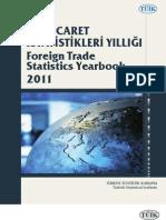 dış ticaret istatistikleri yıllığı 2011