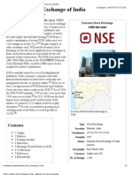 National Stock Exchange of India - Wikipedia, The Free Encyclopedia