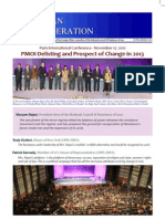 PMOI Delisting and Prospect of Change in 2013