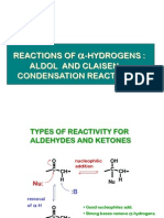 Aldol and Claisen Condensations