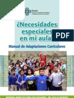 Educacion Inclusiva Manual de Adaptaciones Curriculares