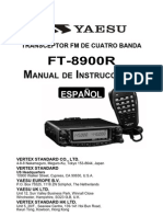 YAESU Ft8900 Manual Castellano