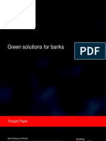 Infosys - Green solutions for banks