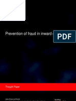 Infosys - Prevention of fraud in inward clearing