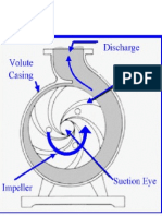 Fluid Flow in Centrifugal Pump