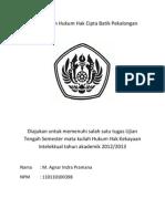 Perlindungan Hukum Hak Cipta Batik Pekalongan