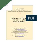 Forme Figure Alterite- Jodelet Denise