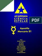 Apostila Mercúrio 01 WEB - Academia Ciência Estelar