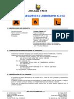 MSDS K-414 Spa 041106