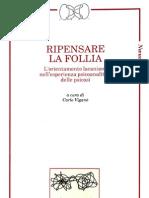 Ripensare la follia - A cura di  Carlo Viganò -  Indice, e cap. 1