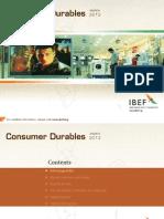 India Consumer Durable Annual Report 2013