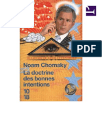 Doctrine Bonne ... Chomsky