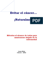 Evitar El Cancer Naturalmente