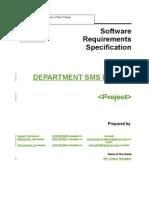 Departmental Sms Portal