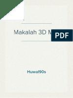 Makalah 3D Studio Max