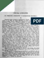 Petar Skok Iz Rumunske Literature o Balkanskim Vlasima