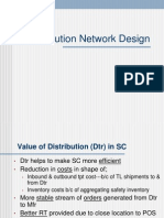 Distribution Network Design